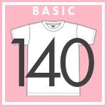 ベーシック Tシャツ 140